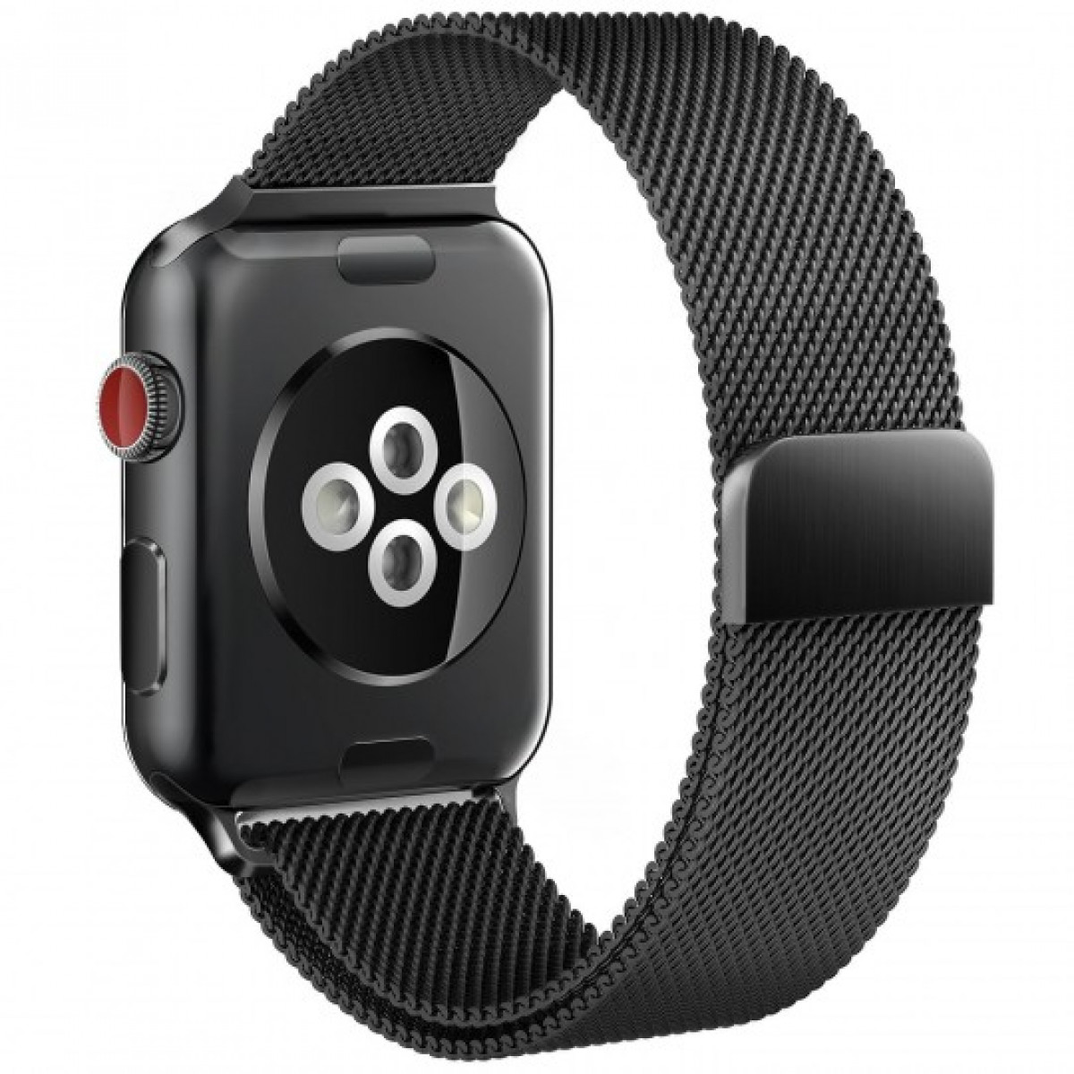 Apple Watch milánói szíj 38-40mm fekete